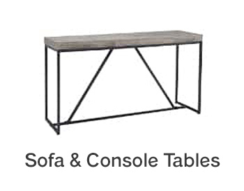 Centurion Sofa & Console Tables