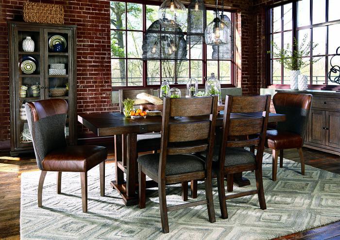 Zenfield Medium Brown Rectangular Dining Table