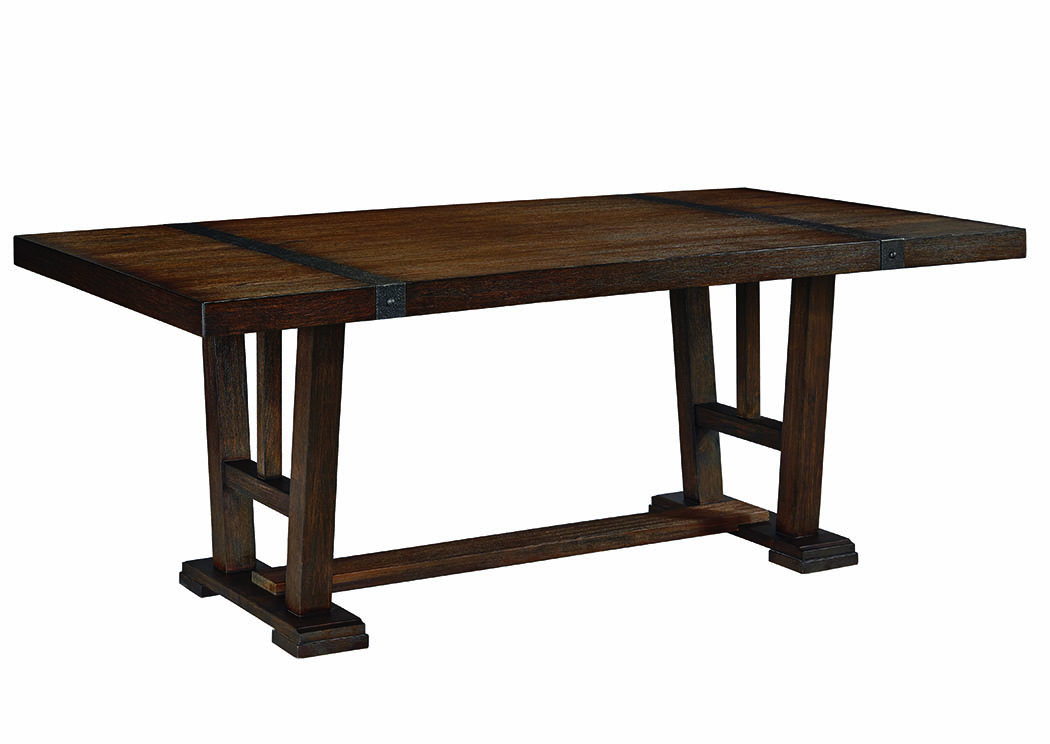 Zenfield Medium Brown Rectangular Dining Table