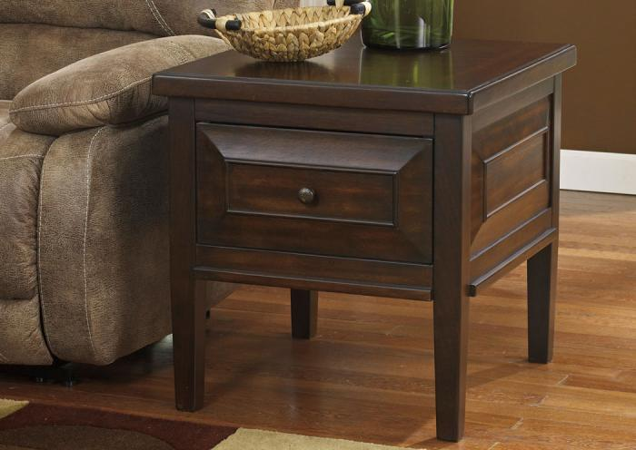 Home Furniture And Accessories Hindell Park Square End Table