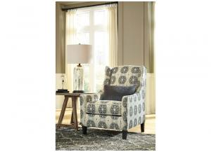 Azlyn Sepia Graphite Accent Chair