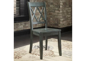Mestler Antique Blue Side Chair