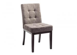 Chanella Dark Brown Dining Upholstered Side Chair