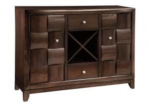 Chanella Dark Brown Dining Room Server