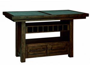 Starmore Brown Rectangular Counter Height Table