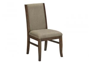 Mardinny Medium Brown Dining Upholstered Side Chair
