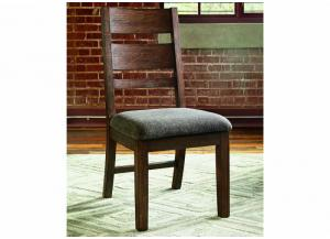 Zenfield Medium Brown Side Chair (Set of 2)