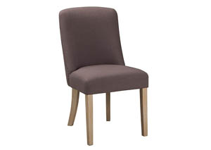 Fanzere Light Brown Dining Upholstered Side Chair