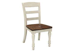 Marsilona Two-tone Dining Room Side Chair